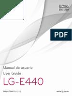Manual LG E440