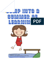 SummeHomework Packet Intermediate Grades
