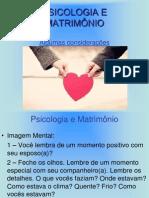 PSICOLOGIA E MATRIMÔNIO.ppt