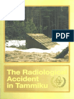 The Radiological Accident in Tammiku