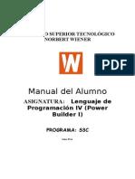 Lenguaje de Programacion IV Power Builder i
