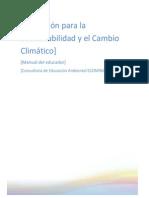 Manual Educación Para La Sustentabilidad y La Adaptación Al Cambio Climático