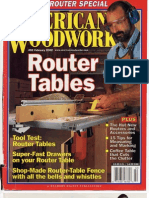 American Woodworker - 092 (02-2002) Router Tables