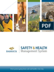 Barrick Safety and Health Management System