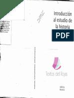 Fontana, Josep - Introducción Al Estudio de La Historia