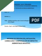 SEMANA 14. Medidas Específicas de Prevención..y . Impactos Ambientales Negativos . EYPRA.