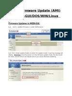 IPMI Firmware Update