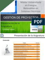 Presentación General El Proyecto Eólico_CASOS