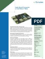 Topaz Intel Atom e6xx by Toradex