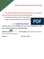 Ralink Driver Installation
