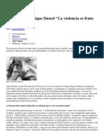 Entrevista a Enrique Dussel
