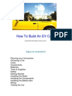 How to Build an EV Car - Zadik