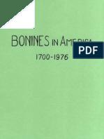 Bonines in America