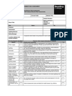 LIghting Director Risk Assessment Template