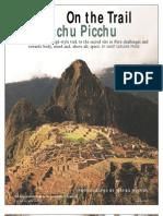 On the Trail to Machu Picchu