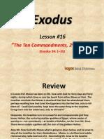 16. the Ten Commandments, 2nd Edition