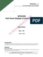 WT61P8 Data Sheet v1.01