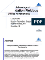 Foundation Fieldbus Overview