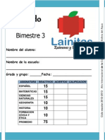 5to Grado - Bimestre 3 (2012-2013)