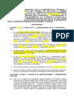 MODELO DE CONTRATO DE ALIANZA ESTRATÉGICA