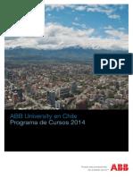 Catalogo ABB University 2014