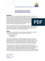 Functional Requirements Specification
