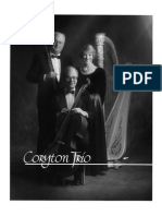 Coryton Trio Publicity Photo B/W
