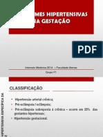 Doença Hipertensiva Específica da Gestação (DHEG)