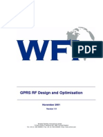 GPRS Design and Optimisation Report Ver 1.
