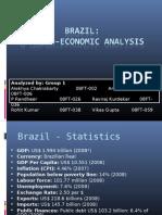 Macro-Economic Study Brazil