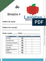 5to Grado - Bimestre 4 (2012-2013)
