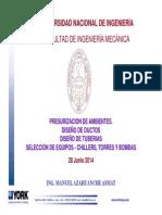 03.- Diseño de Ductos y Tuberias UNI-FIM-2014-1