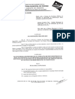 Lei Complementar n.018 - Estatuto Do Servidor