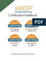 NABCEP Certification Handbook