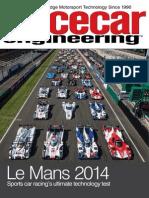 Racecar Le Mans 2014