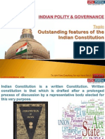 Indian Polity Topic 1 Outstanding Features