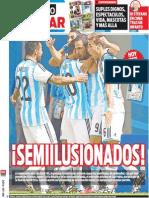 Tapa Diario Popular 06-07-2014