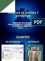 Tecnicas de Asepsia y Antisepsia