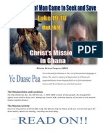 Mission Driven Purpose Report to Ghana