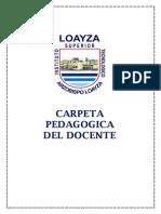 CARPETA PEDAGOGICA DOCENTE