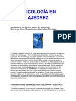 Psicología en Ajedrez