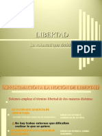 Libertad y Voluntad
