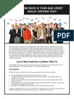 Cost of Bad Loan - Edit