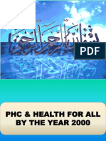 Phc & Health for All