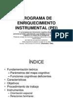 Programa de Enriquecimiento Instrumental1