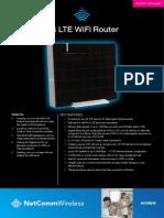4G100W Spec Sheet