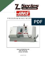 Manual Haas Lathe