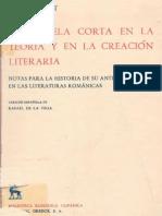 Pabst Walter - La Novela Corta en La-teoria y en La Creacion Literaria