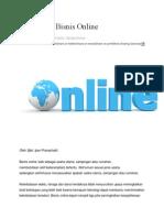 Skill Untuk Bisnis Online