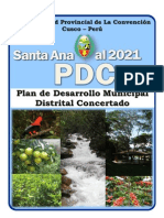 Pdmdc Santa Ana 2012-2021